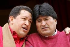 Chavez y Evo